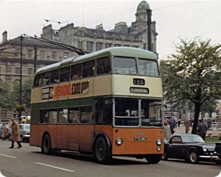 Glasgow Corporation - BUT 9613T - FYS 861 - TB100