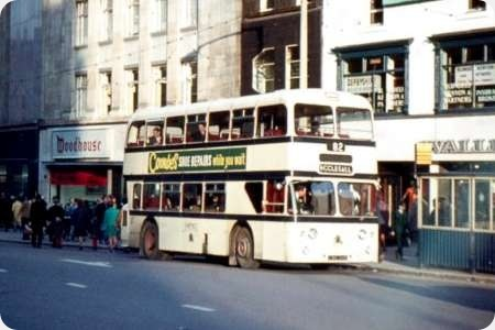 Sheffield Corporation - Leyland Atlantean - CWB 346B - 346
