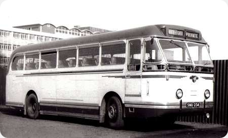 Booth & Fisher - Leyland Royal Tiger - SNU 234