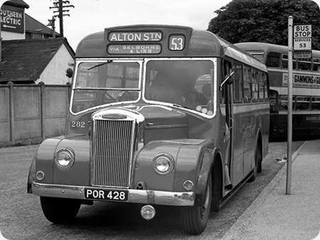 Aldershot & District - Dennis Falcon P5 - POR 428 - 282