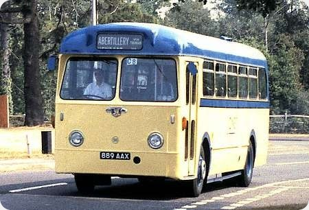 Jones Aberbeeg - Leyland Tiger Cub - 889 AAX - 98