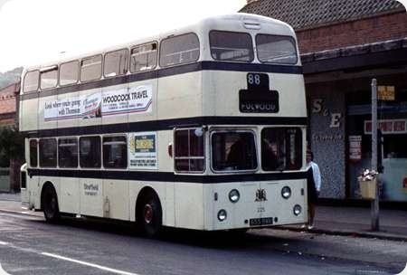 Sheffield Corporation - Leyland Atlantean - 655 BWB - 225