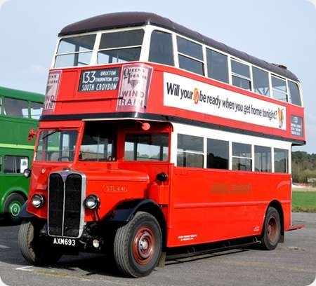 London Transport - AEC Regent I - AXM 693 - STL441
