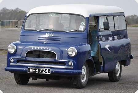 BOAC - Bedford CAL - MFB 724