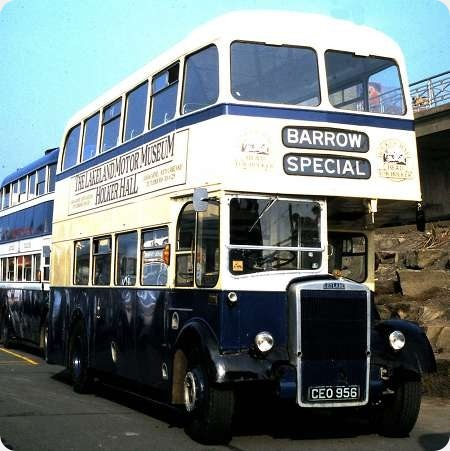 Barrow Corporation - Leyland Titan PD2 - CEO 956 - 169