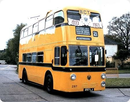 Bournemouth Corporation - Sunbeam - 297 LJ - 297