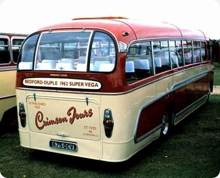 Crimson Tours - Bedford SB3 - 675 OCV