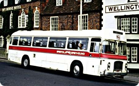 Greyhound Motors Ltd - Bristol RE - NHW 313F - 2156