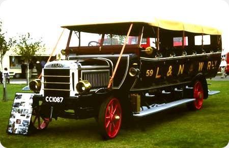 L & N W Rly - Leyland S4 36 T3 - CC 1087 - 59