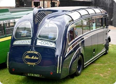 Blue Motors - Leyland Cheetah - EYA 923