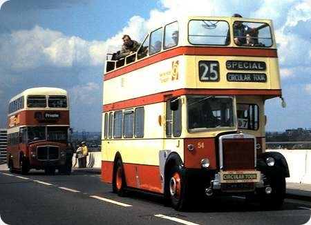 Southport Corporation - Leyland Titan - CWM 154C - 54