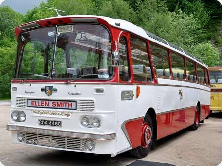 Ellen Smith Tours - Leyland Leopard - CDK 448C