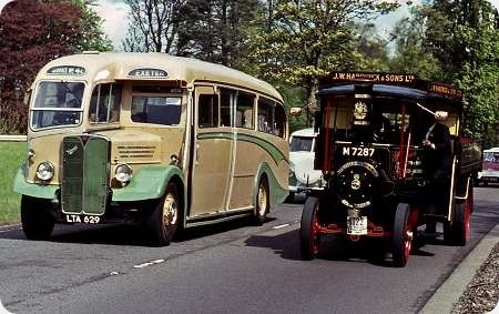 Grey Cars - AEC Regal III - LTA 629 - TCR 629