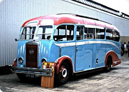 Popular Coaches - Seddon Mk IV - DPR 518