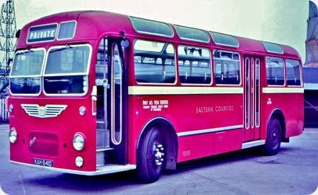 Eastern Counties - Bristol MW - KAH 641D - LM641