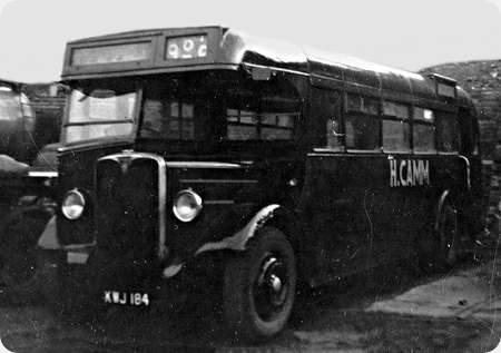 Sheffield Corporation - AEC Regal - KWJ 184 - 1184