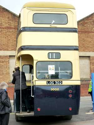 Birmingham City - Daimler CL - LOG 302 - 3002