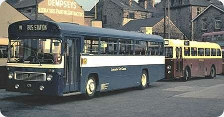 Lancaster Corporation - Leyland Panther - LTC 109F - 109