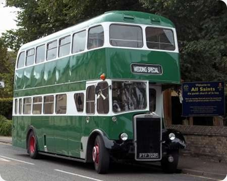 Dews Coaches - Leyland PD3 - FTF 702F