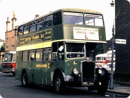 Hants & Dorset - Bristol KSW - KEL 728 - 1285