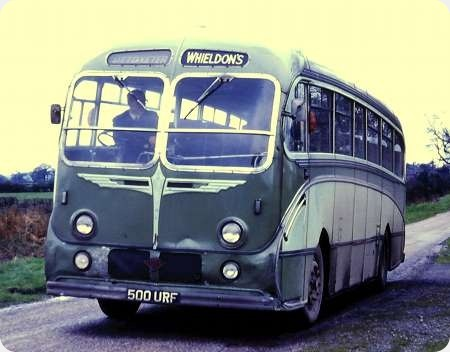 Whieldons (Green Bus Co) - Guy LUF - 500 URF