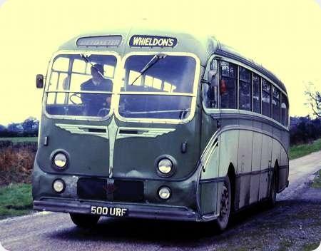 Whieldons (Green Bus Co) - Guy LUF - 500 URF