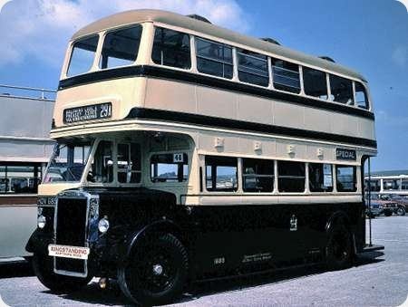 Birmingham City - Leyland Titan - HOV 685 - 1685
