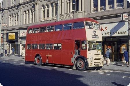 Huddersfield Corporation - Leyland Titan - WVH 419 - 419