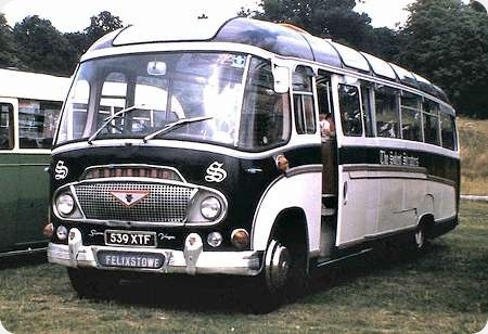 Solent Strutters - Bedford SB - 539 XTF