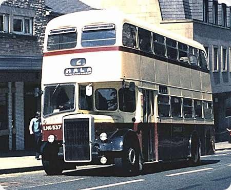 Lancaster City Transport - Leyland Titan - LHG 537