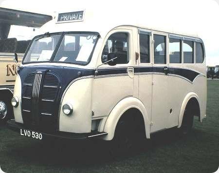 Lees Motorways/Symes ? - Austin K8 - LVO 530