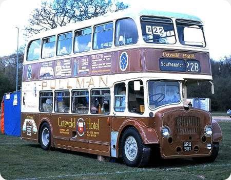 Hants & Dorset - Bristol Lodekka - SRU 981 - 1368