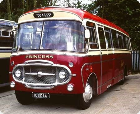 Princess Coaches - Bedford SB5 - 103 GAA