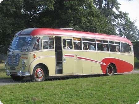 Burton Coaches - Bedford SB - LGV 994