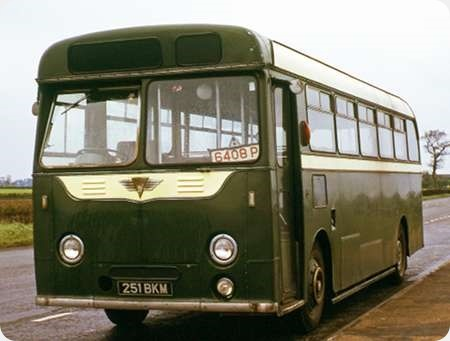 Maidstone & District - AEC Reliance - 251 BKM - SO251
