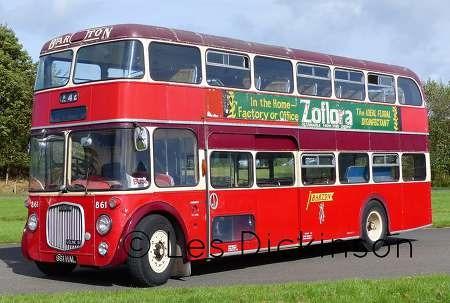 Old Bus Photos » Barton Transport – Dennis Loline – 861 HAL – 861
