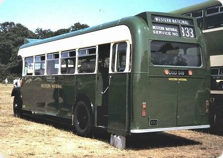 Western National - Bristol L - DOD 518 - 333