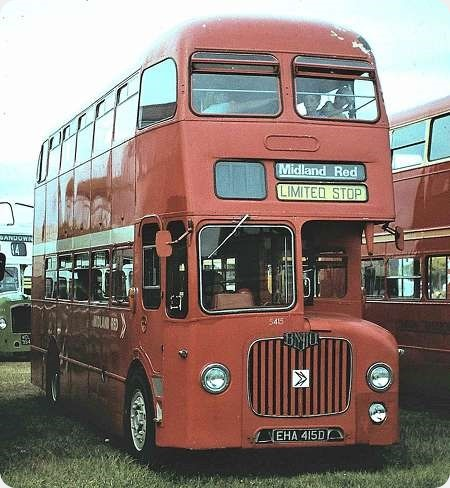 Midland Red - BMMO D9 - EHA 415D - 5415