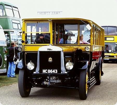 Eastbourne Corporation - Leyland Lion - HC 8643 - 58
