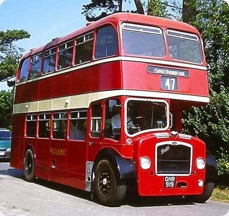 Wilts & Dorset - Bristol Lodekka - OHR 919 - 628