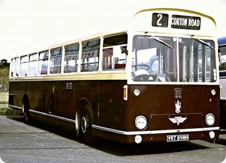 Lowestoft Corporation - AEC Swift - YRT 898H - 4
