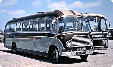Berrys Coaches - Bedford SB - 107 GYC
