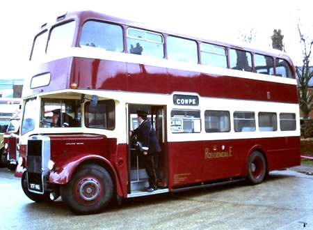 PHOTO Rossendale Leyland PD3//4 46 DTJ960E at Rawtenstall in 1981