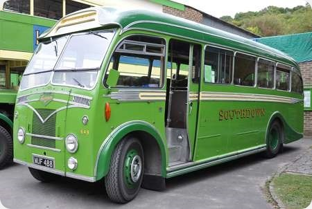 Southdown - Beadle- Leyland - MUF 488 - 649