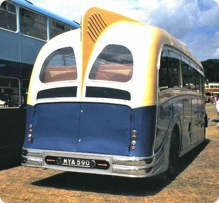 Scarlet Coaches - Leyland Comet - MYA 590