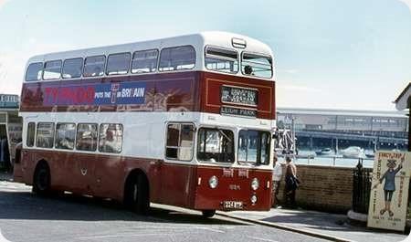 Portsmouth Corporation - Leyland Atlantean - 224 BTP - 224