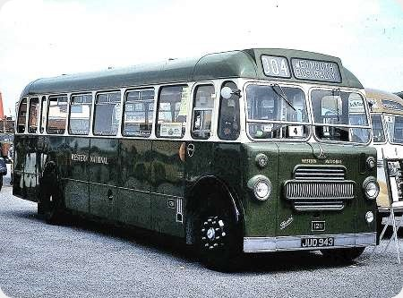 Western National - Bristol L - JUO 943 - 1211
