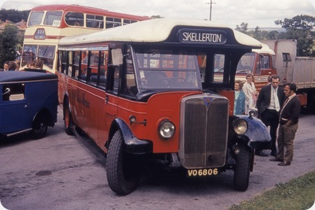 Red Bus Service - AEC Regal - Craven - VO 6806