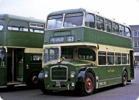 West Riding - Bristol Lodekka - XNU 428 - 405