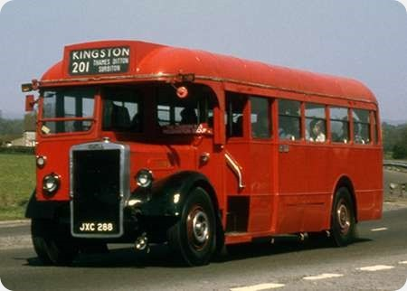 London Transport - Leyland Tiger - JXC 288 - TD 95